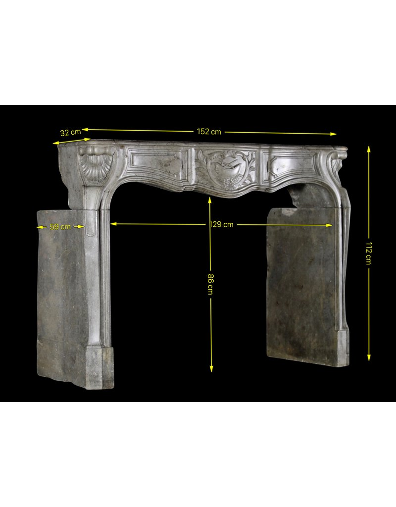 The Antique Fireplace Bank French 18Th Century Period Fireplace Surround