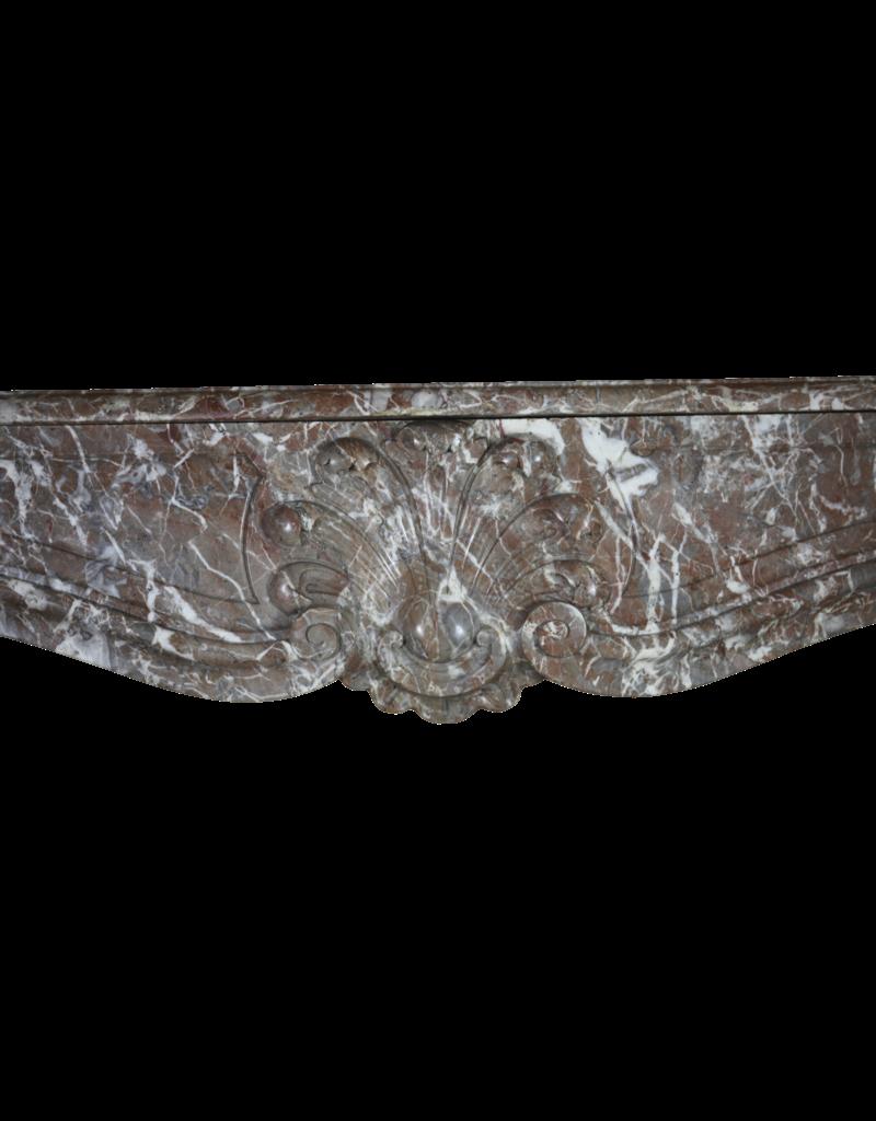 19. Jahrhundert Klassische Belgische Marmor Kaminmaske