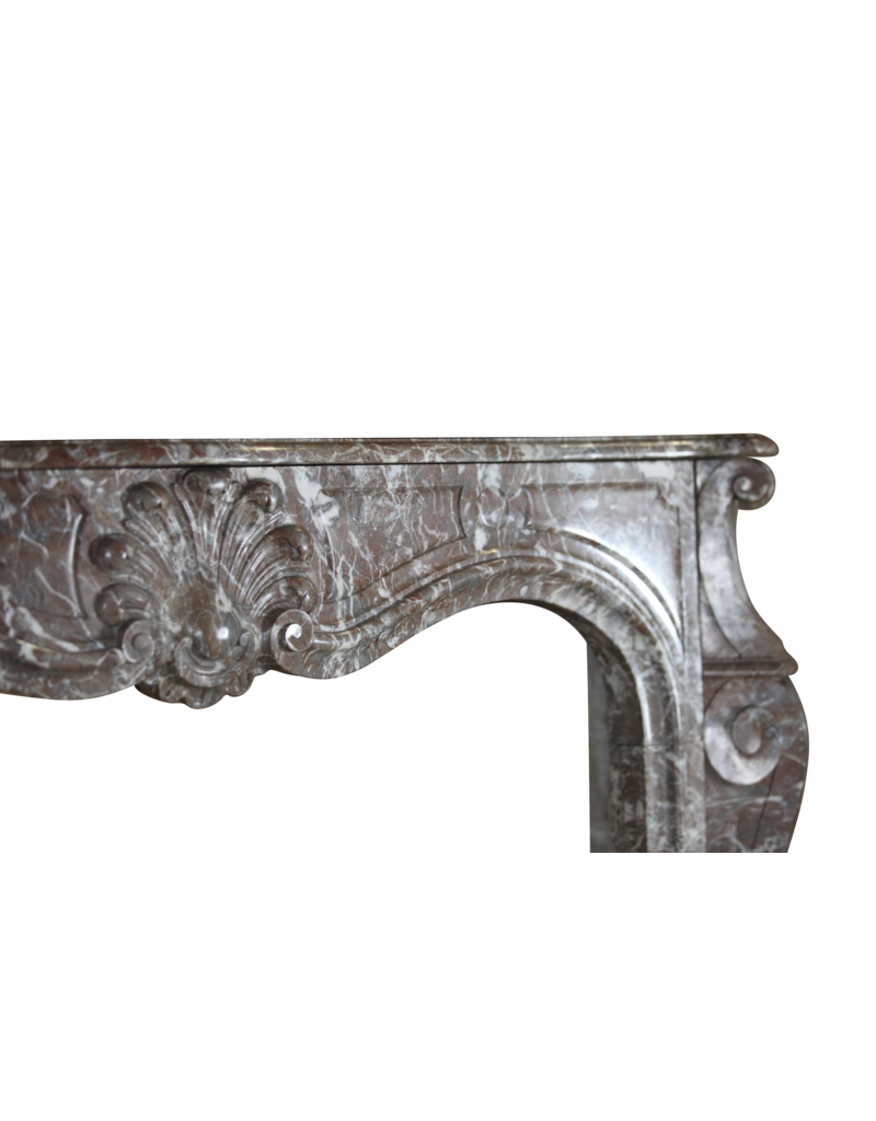 The Antique Fireplace Bank 19Th Century Classic Belgian Marble Fireplace Surround