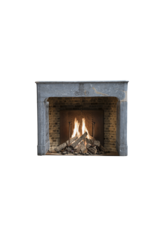 Bicolor French Antique Fireplace Surround