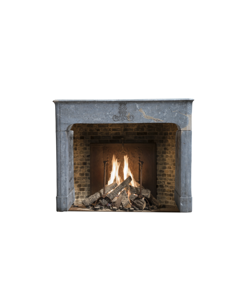 The Antique Fireplace Bank Bicolor French Antique Fireplace Surround