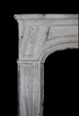 Maison Leon Van den Bogaert Antique Fireplaces & Vintage Architectural Elements 18A Francés Del Siglo Período De Piedra Caliza Chimenea Surround