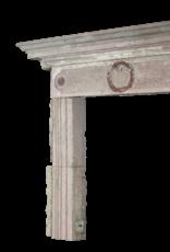 The Antique Fireplace Bank Rustikal Reclaimed Kalkstein Kaminmaske