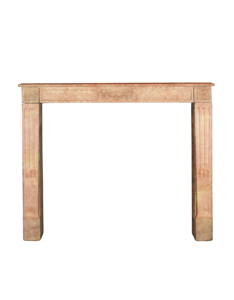 Fine Detailed French Vintage Fireplace Surround