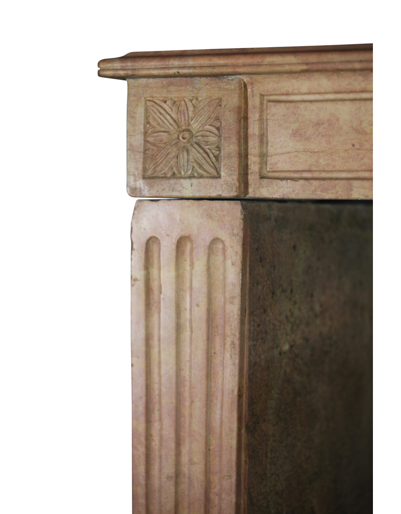 The Antique Fireplace Bank Fine Detailed French Vintage Fireplace Surround