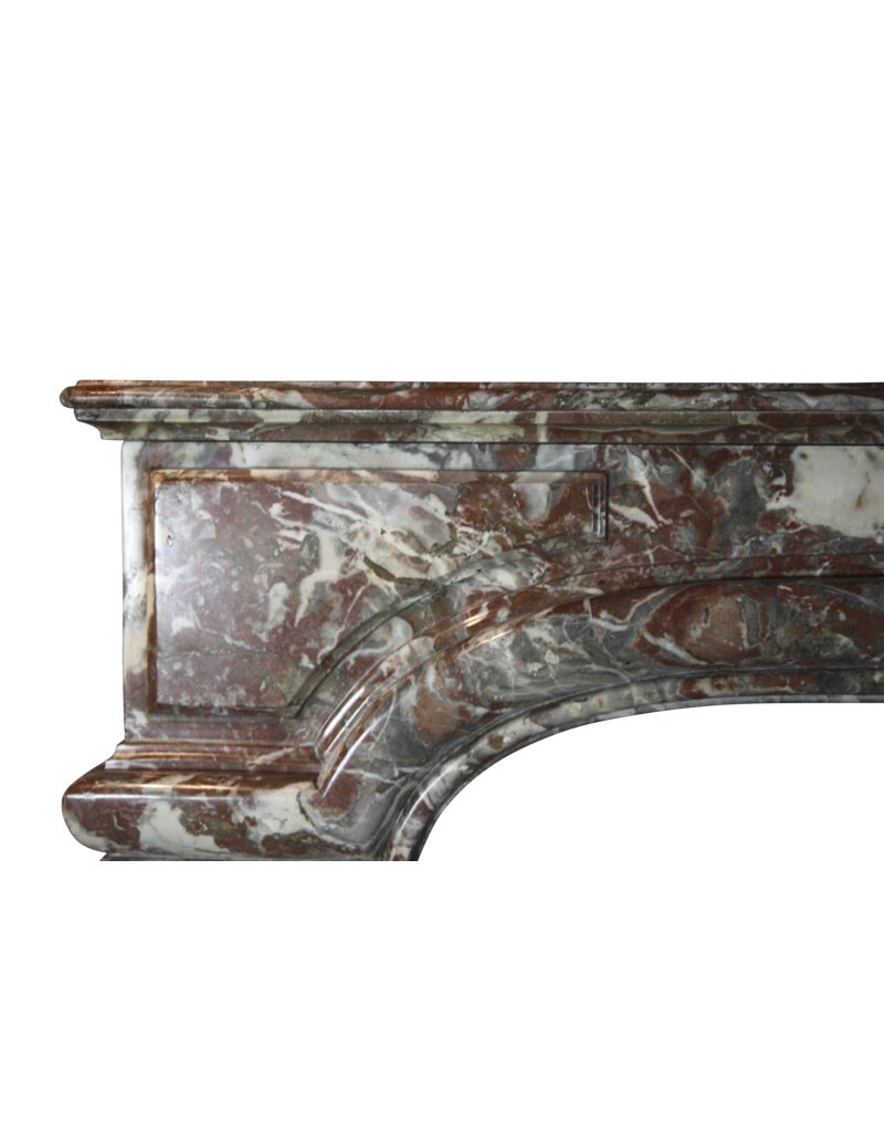 The Antique Fireplace Bank Classic Belgian Vintage Fireplace Surround