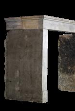 The Antique Fireplace Bank Zeitloses Chique Französisch Bleu Stein Antike Kaminmaske