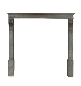 The Antique Fireplace Bank High French Bicolor Fireplace Surround