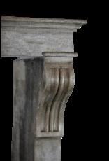 Höhe Französisch Zweifarbig Kamin Verkleidung