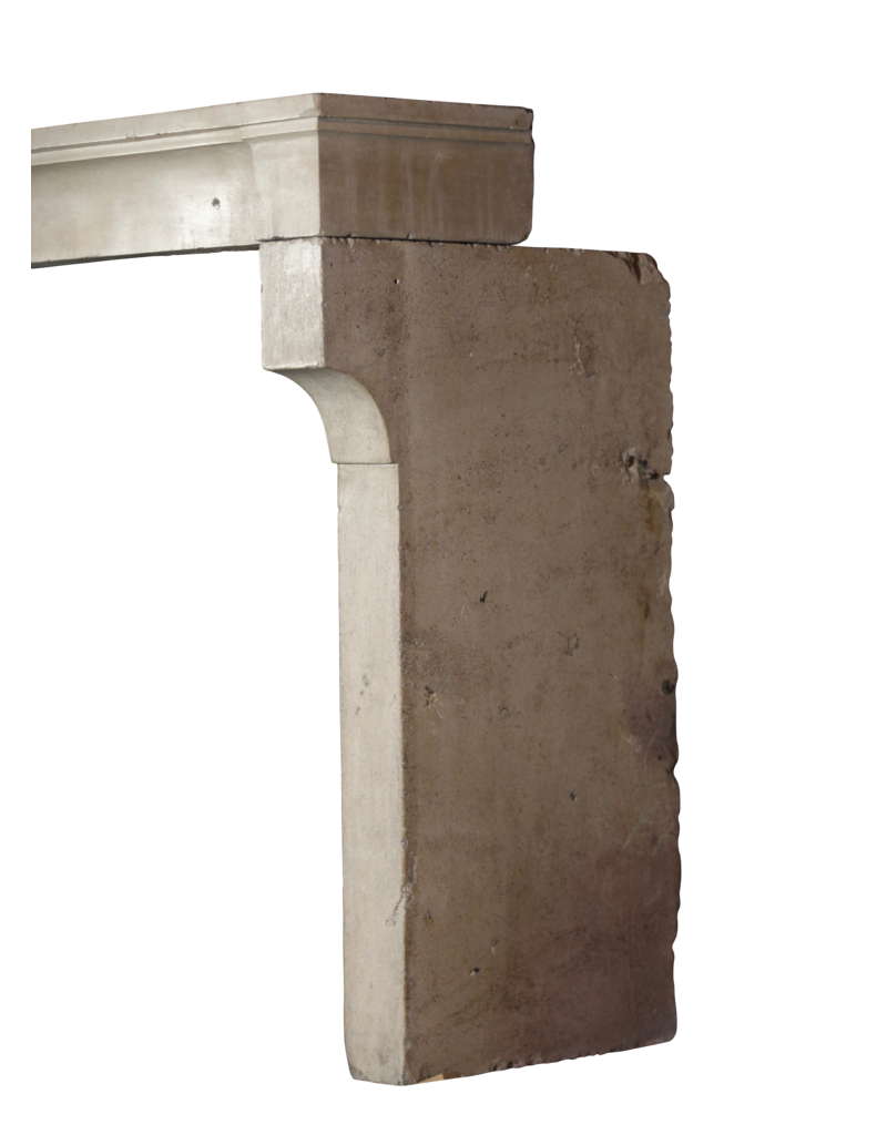 The Antique Fireplace Bank Breites Französisch Jahrgang Kalkstein Kaminmaske