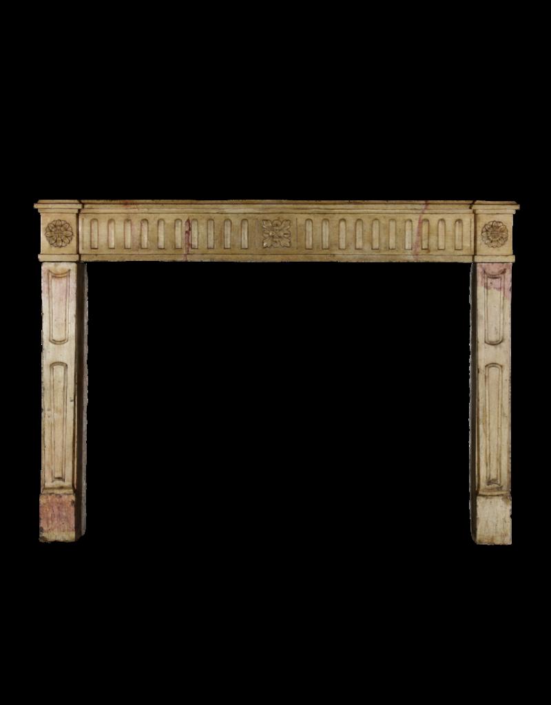 The Antique Fireplace Bank Französisch Zweifarbig Vintage-Kamin Verkleidung