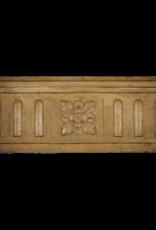 Französisch Zweifarbig Vintage-Kamin Verkleidung