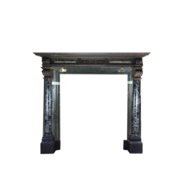 The Antique Fireplace Bank Grand Belgian Antique Fireplace Surround