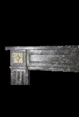 18. Jahrhundert Gris St-Anne Marble Jahrgang Kaminmaske