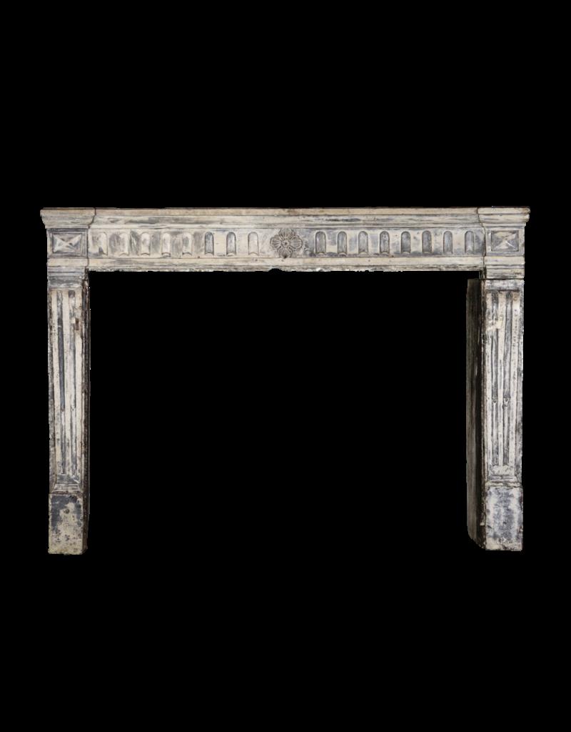 The Antique Fireplace Bank Französisch Campagnard Kalkstein Kaminmaske