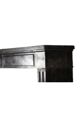 The Antique Fireplace Bank Chique Black Contrast Fireplace Surround