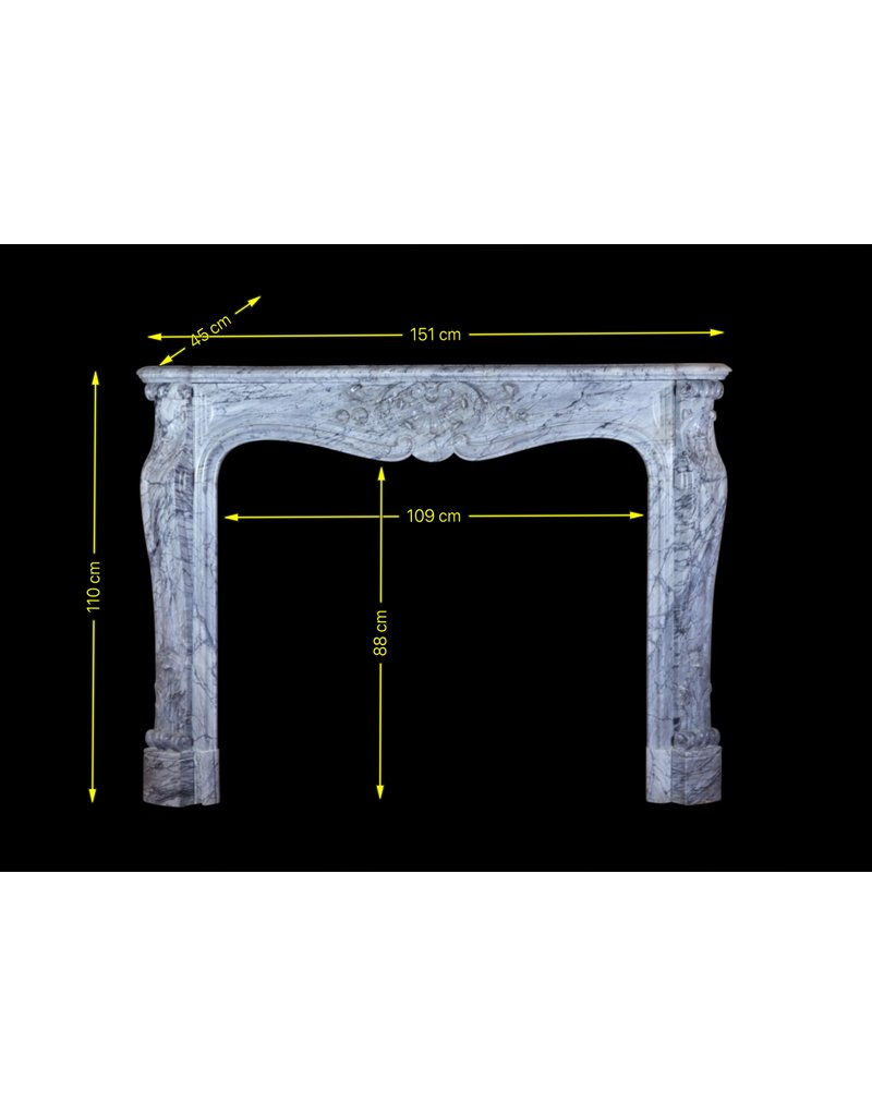 Fine Classic French Fireplace Surround