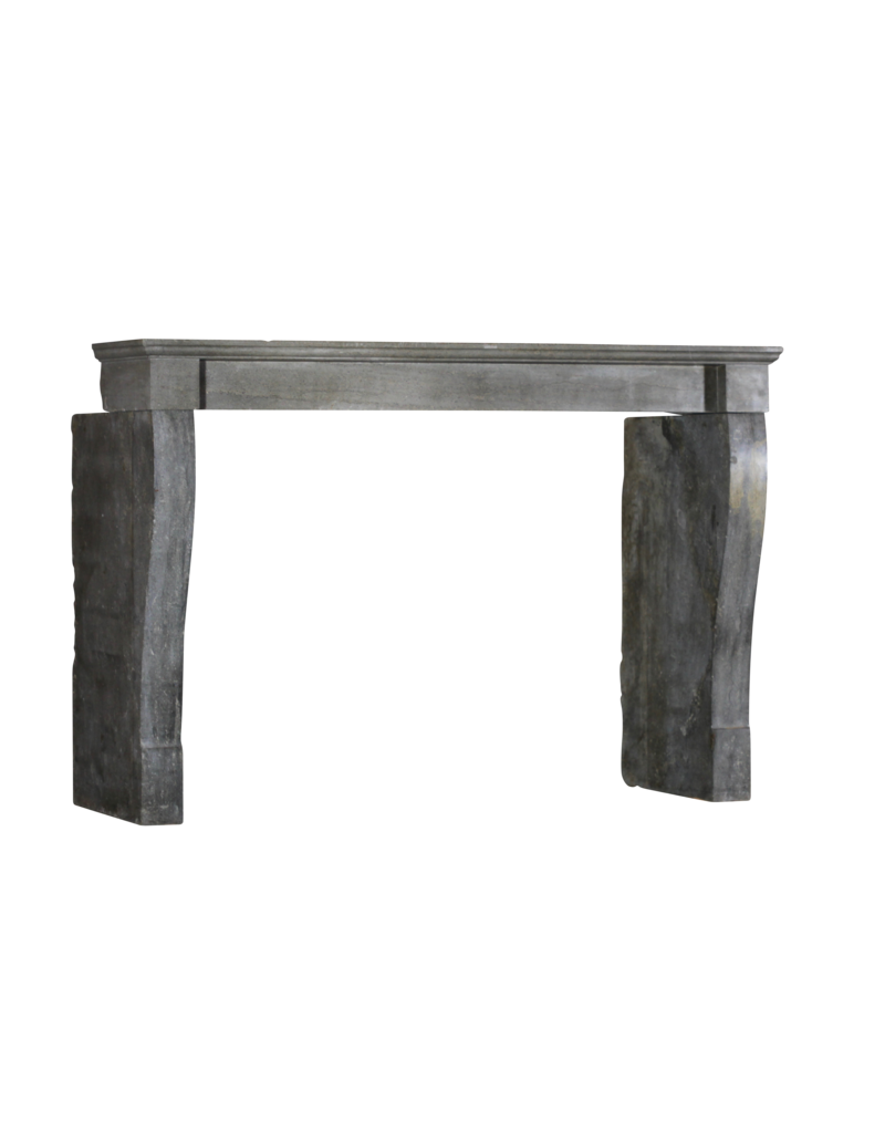 The Antique Fireplace Bank Dark French Stone Fireplace Mantlepiece