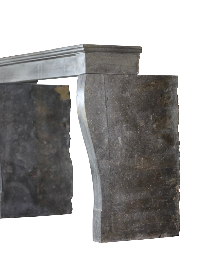 The Antique Fireplace Bank Dunkle Französisch Stein Kamin Kamin Verkleidung