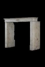 Französisch Kalkstein Eleganter Kamin Verkleidung