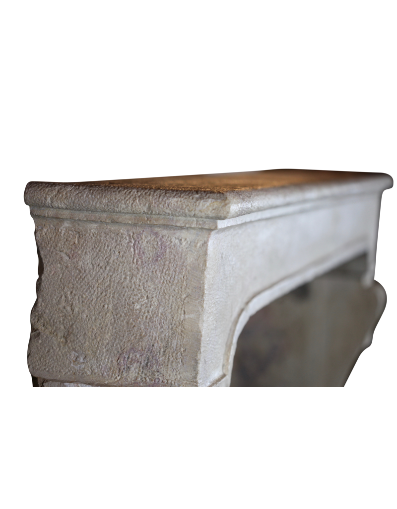 The Antique Fireplace Bank Breites Französisch Classic Country Kalkstein Kaminmaske