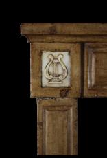 Vintage 18. Jahrhundert Französisch Musik-Raum Kaminmaske