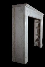 18. Jahrhundert Feine Französisch Kamin Aus Carrara-Marmor
