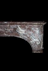 19. Jahrhundert Belgischen Marmor Kaminmaske