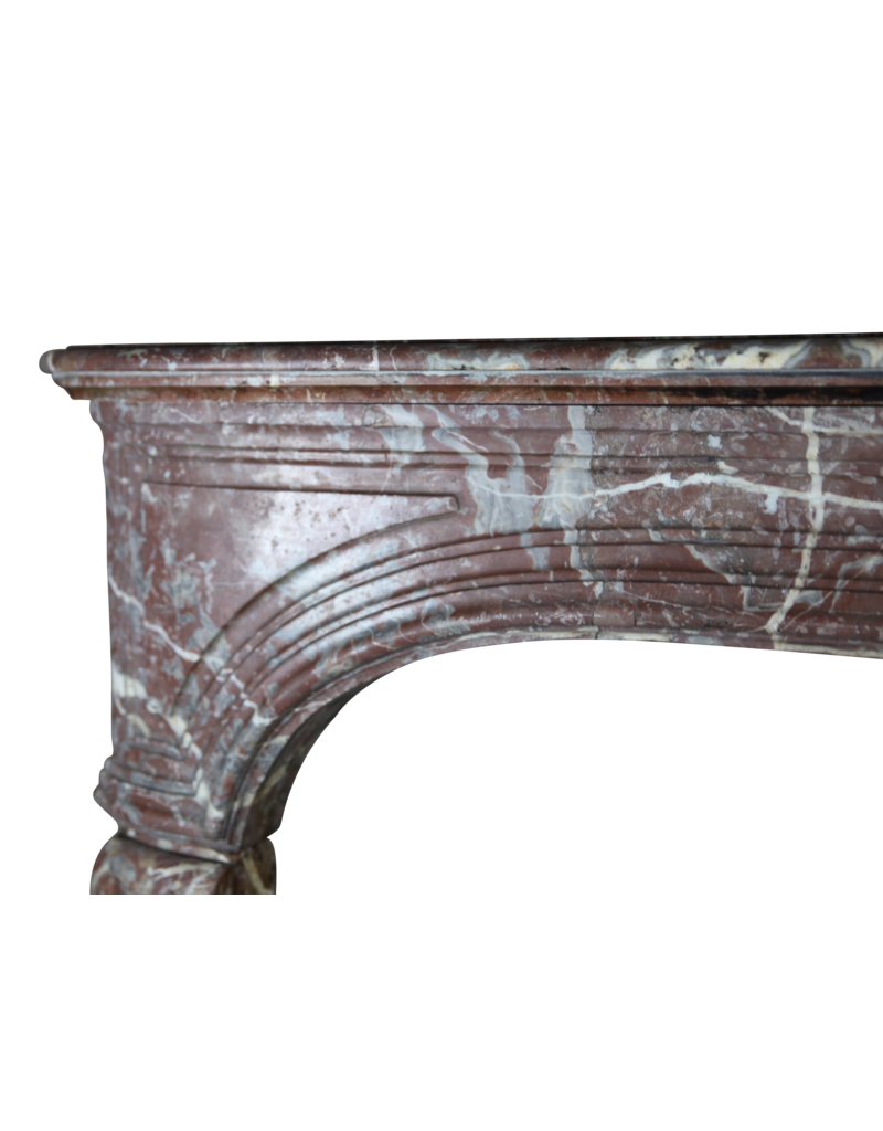 The Antique Fireplace Bank 19Th Century Belgian Marble Fireplace Surround