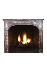 Maison Leon Van den Bogaert Antique Fireplaces & Vintage Architectural Elements 19. Jahrhundert Belgischen Marmor Kaminmaske
