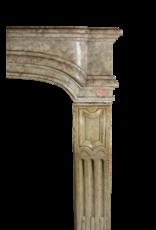 Französisch Bicolor Hartsteinkamin Surround