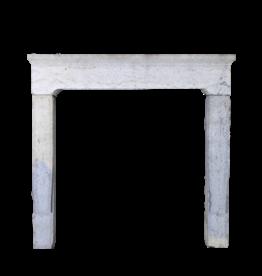 Rustikal Antike Reclaimed Zweifarbig Kalkstein Kamin