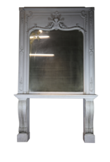 The Antique Fireplace Bank 19Th Century Console With Mirror