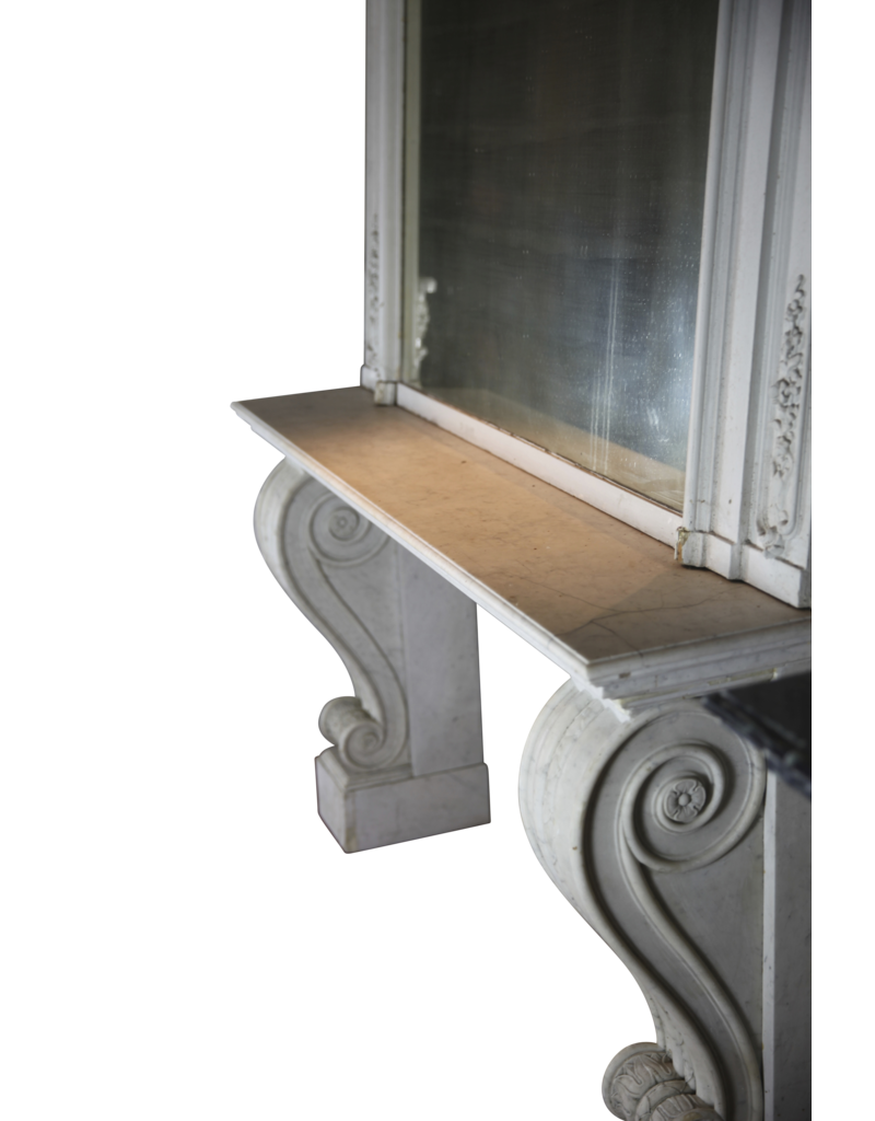 19Th Century Console With Mirror