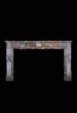 18. Jahrhundert Feine Belgische Marmor Kaminmaske