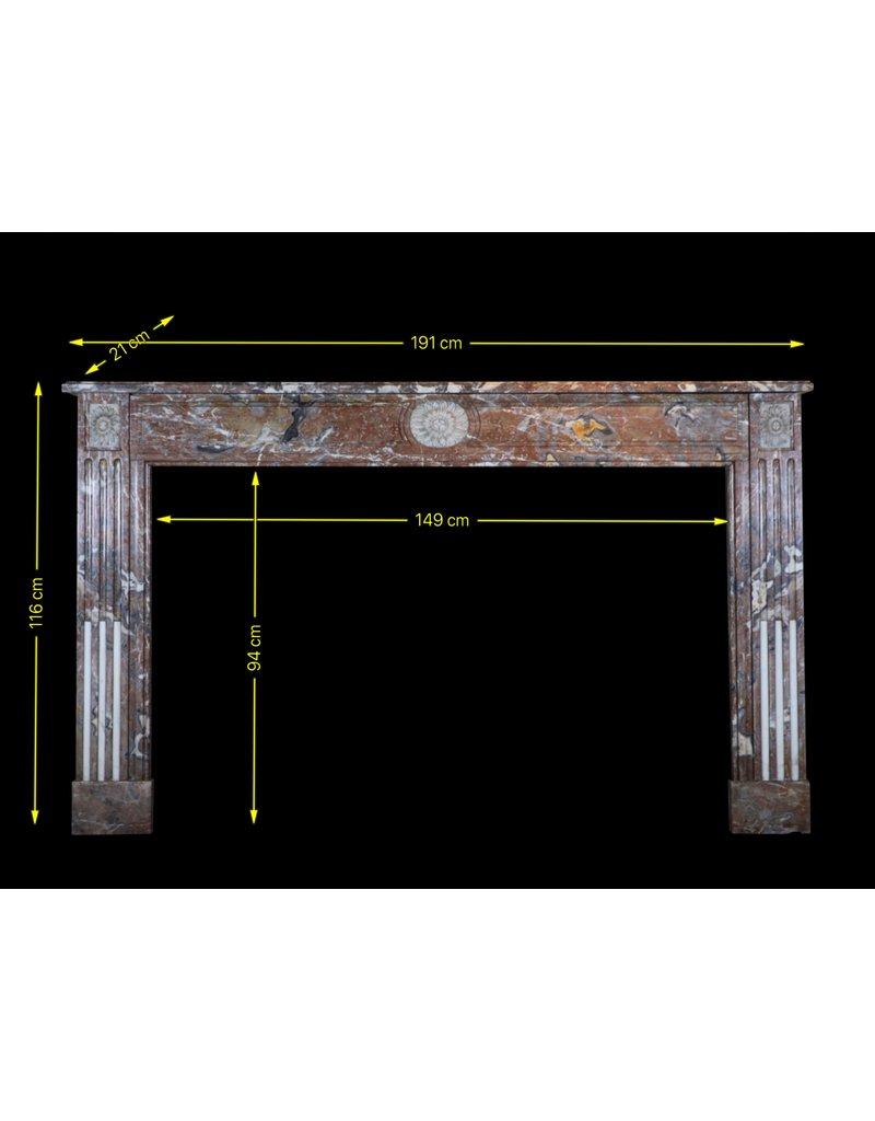 18Th Century Fine Belgian Marble Fireplace Surround