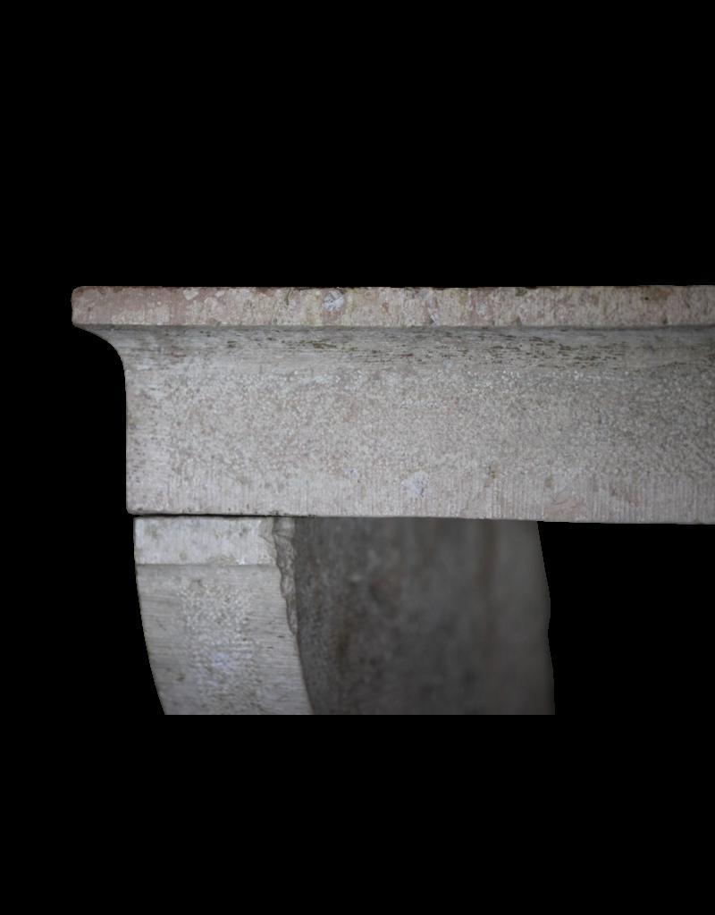 Französisch Landstil Kalkstein Antike Kamin Verkleidung
