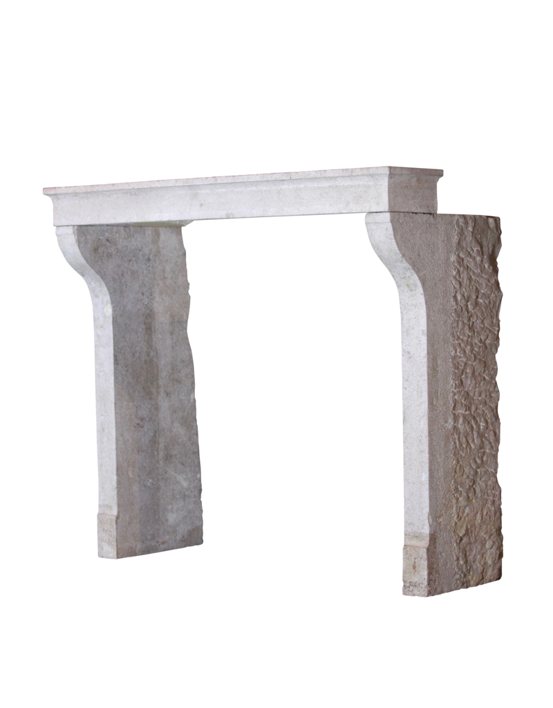 The Antique Fireplace Bank French Country Limestone Antique Fireplace Mantle