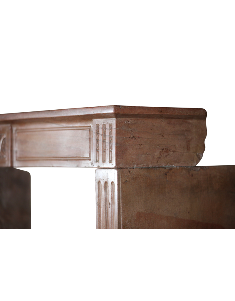 Vintage Kaminmaske In Stein