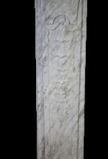 Italienisch Arabesk Marmor Kaminmaske