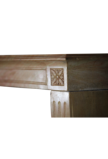 The Antique Fireplace Bank French Bicolor Reclaimed Fireplace Surround