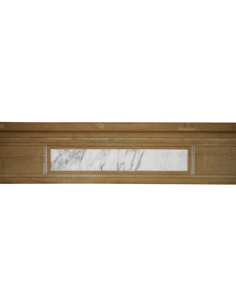 Delicate Classic French Antique Fireplace Mantle