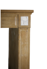 Delicado Clásico Antiguo Francés Cheminea