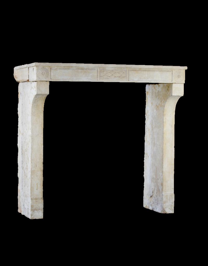 The Antique Fireplace Bank Fine Clásico Francés Antiguo Chimenea De Piedra Surround