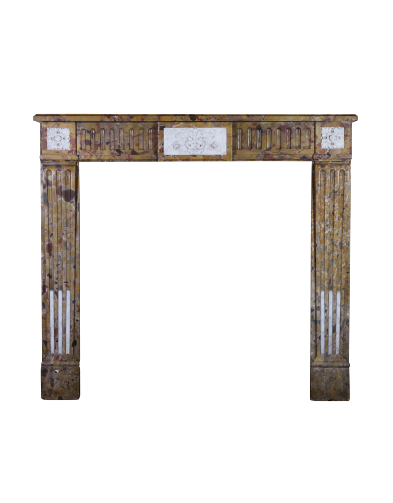 Maison Leon Van den Bogaert Antique Fireplaces & Vintage Architectural Elements Chique Französisch Marmor Kaminmaske