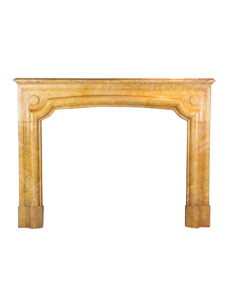 The Antique Fireplace Bank Antique French Fireplace Surround In Yellow Marble