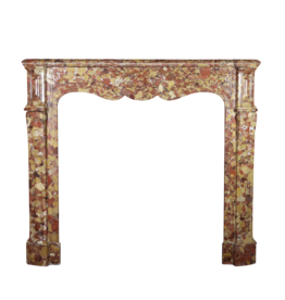 The Antique Fireplace Bank Rich French Pompadour Style Fireplace