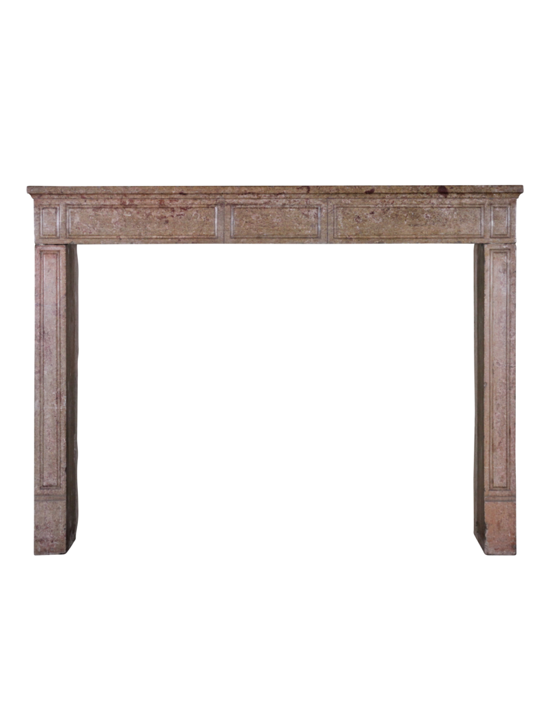 French Chique Stone Fireplace Surround