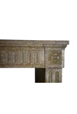 Classic French Marble Stone Fireplace Mantle