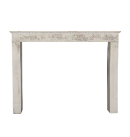 The Antique Fireplace Bank French Rustic Limestone Fireplace